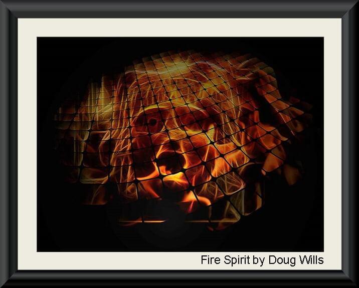 Fire Spirit by Doug Wills 575h