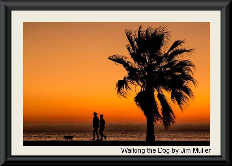 Walking the Dog by Jim Muller ..575h